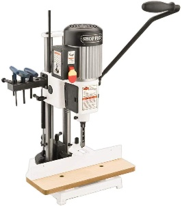 Image of a benchtop mortiser