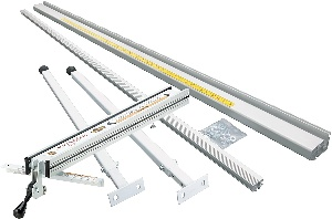 Image of shop fox, one of the best table saw fences