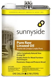 Wood oil for outdoor furniture