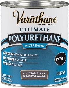 Image of a water based polyurethane for hardwood floor refinishing