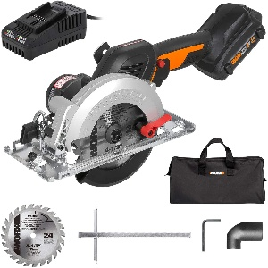 Image of a Worx Cordless circular saw for beginners