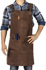 Image of a woodworking apron