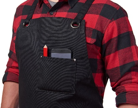 Image of the one of the best woodworking aprons