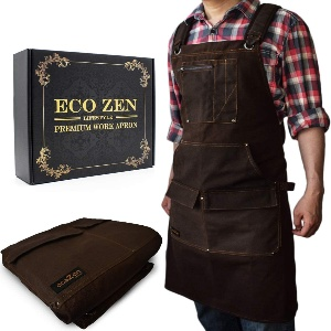 Apron for woodworking