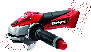 Image of a cordless angle grinder