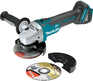 Makita, the Best Cordless Angle Grinder for Woodworking