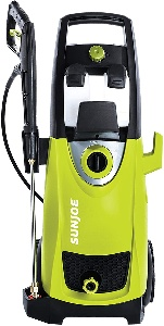 Power washer for deck cleaning