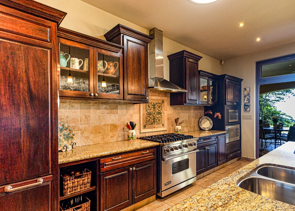 Image of kitchen cabinets but How Many Coats of Primer on Cabinets