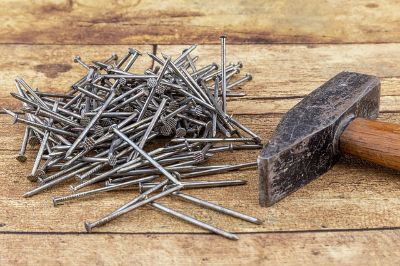 Image of nails but Nails or Screws for Framing?