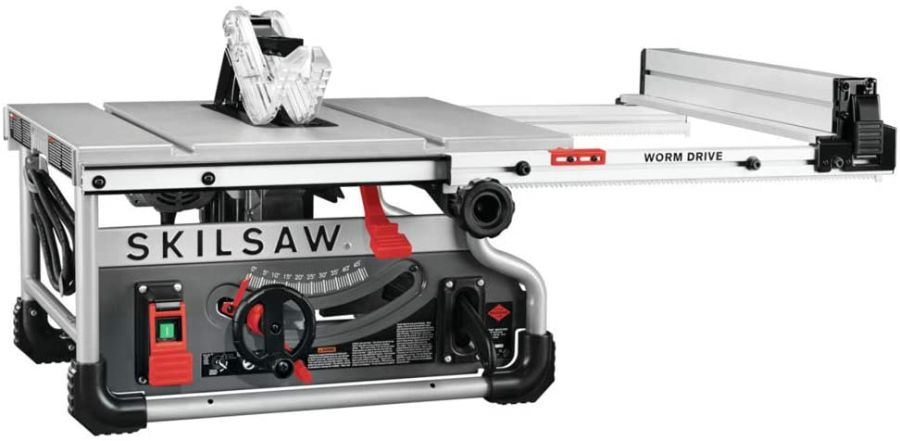 Image of a table saw so, How Do I Prevent Dangerous Kickback On a Table Saw?